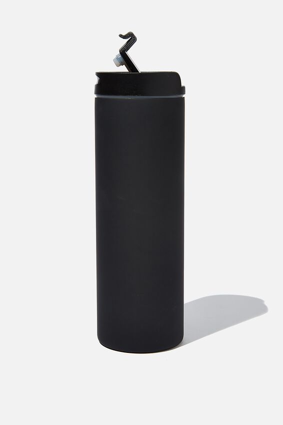 Travelling Tea Drinker, BLACK RUBBER