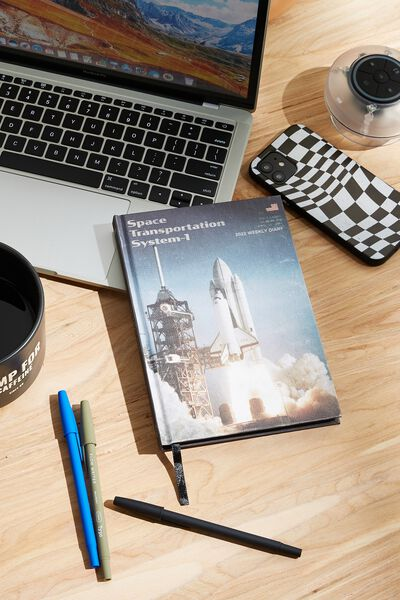 2022 Big Ticket Weekly Diary, LCN NAS NASA LAUNCH