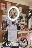Vlog Life 20cm Ring Light, MULTICOLOURED