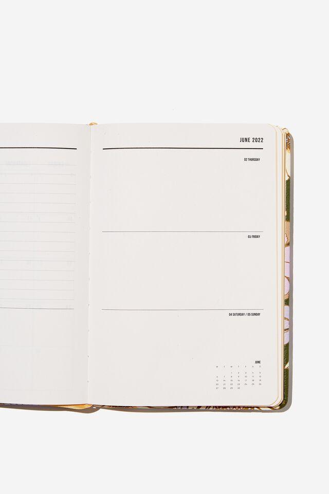 2022 A5 Weekly Buffalo Diary, SUNNIE FLORAL