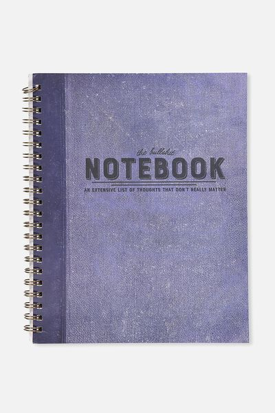 A4 Campus Notebook - 240 Pages, THE BULLSHIT NOTEBOOK!