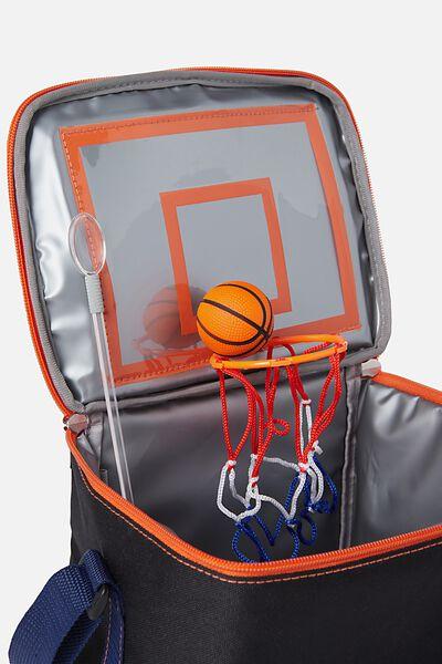 Premium Cooler Lunch Bag, BASKETBALL