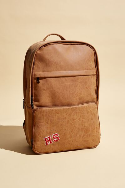 Personalised Formidable Backpack 15 Inch, MID TAN