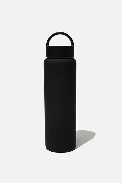 Gotta Go Metal Drink Bottle, BLACK