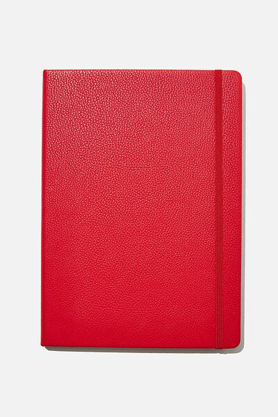 "A4 Buffalo Journal (8.2"" x 11.6""), RED"