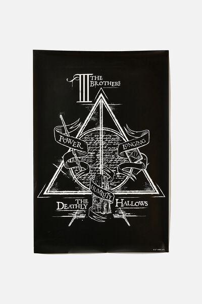 Lcn Poster, LCN WB HP HALLOWS