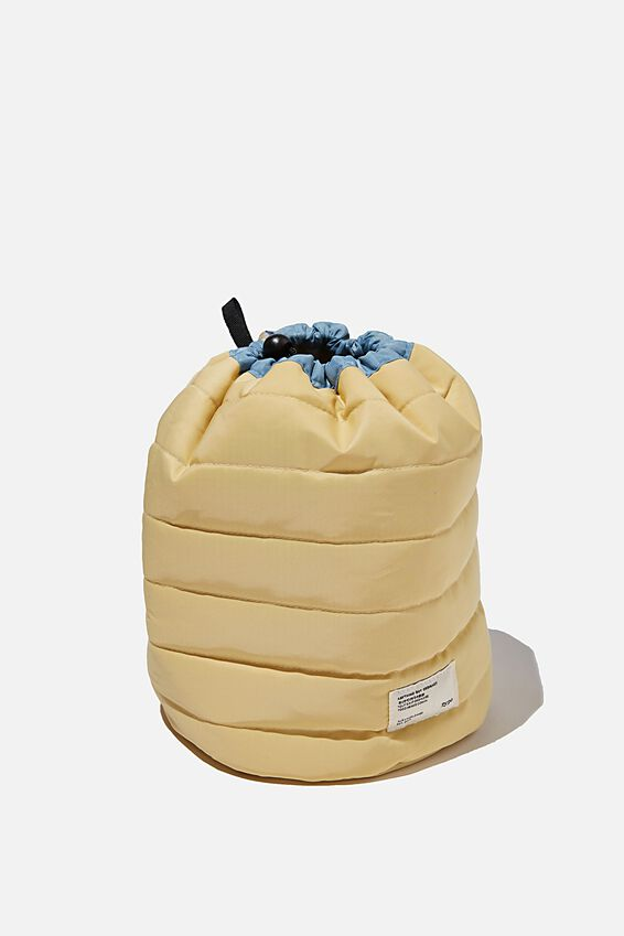 Utility Carry All Case, WASHED MUSTARD AND DUSTY BLUE