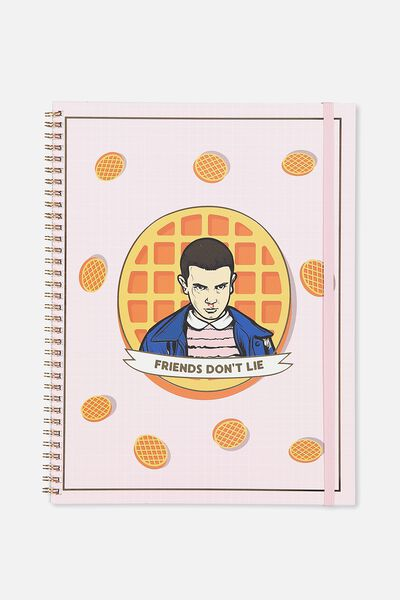 A4 Spinout Notebook - 120 Pages, LCN ST ELEVEN