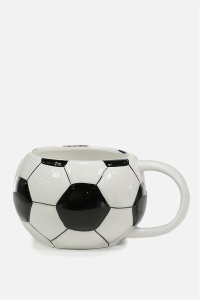 Novelty Shaped Mug, SOCCER
