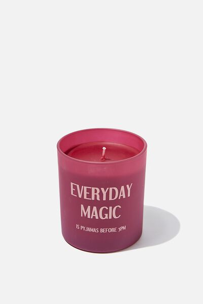 Printed Jar Candle, EVERYDAY MAGIC