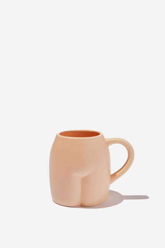 Shaped Mug, SLIM BUTT!
