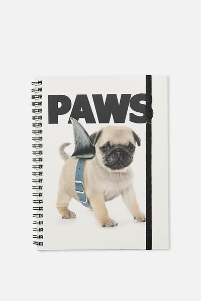 Small Spinout Notebook Usa 8X6, PAWS
