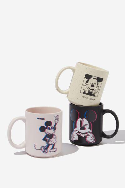 Pack Of 3 Mugs, LCN DIS MICKEY