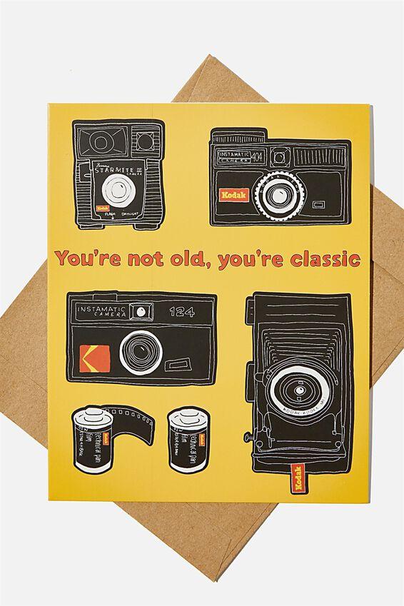 Kodak Nice Birthday Card, LCN KO KODAK YOURE A CLASSIC