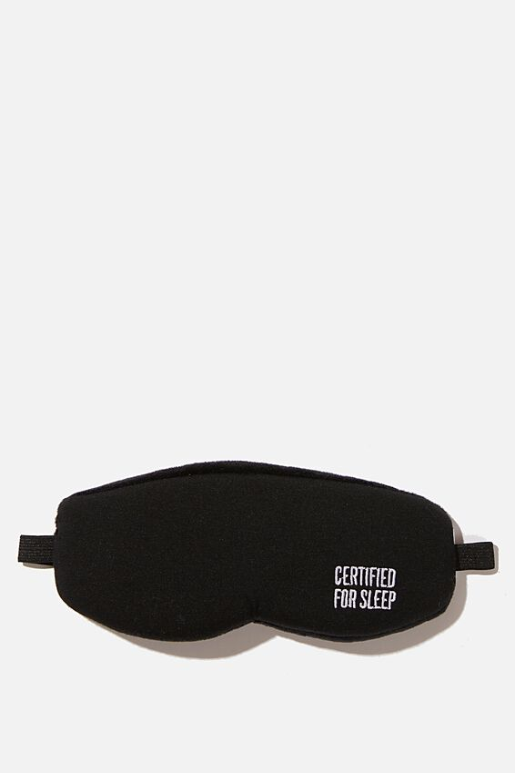 Total Block Out Eyemask, BLACK QUOTE