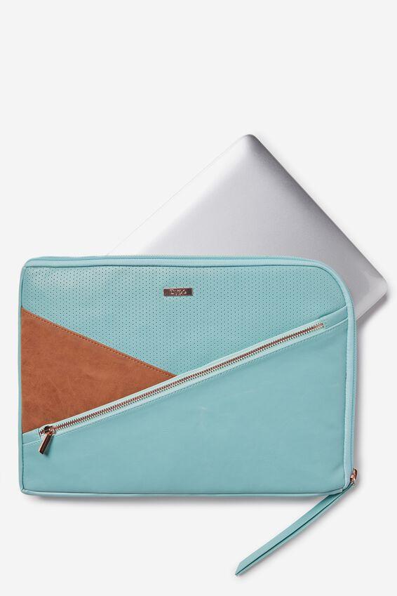 "Premium Laptop Case 13"", LIGHT BLUE"