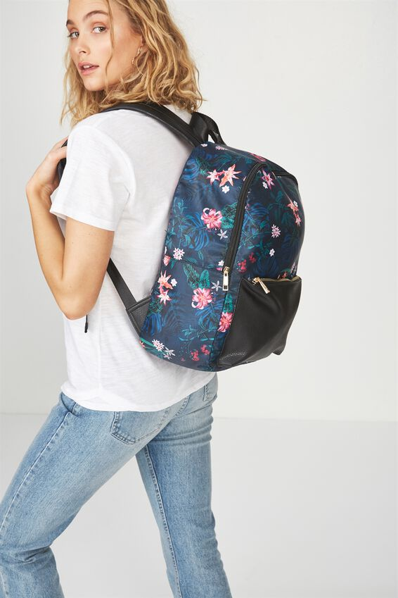 Everyday Backpack, JUNGLE FLORAL