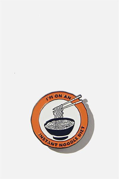 Enamel Badges, INSTANT NOODLES