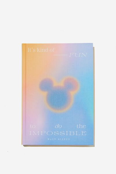 The Big Ticket Notebook, LCN DIS MICKEY SOLARISED