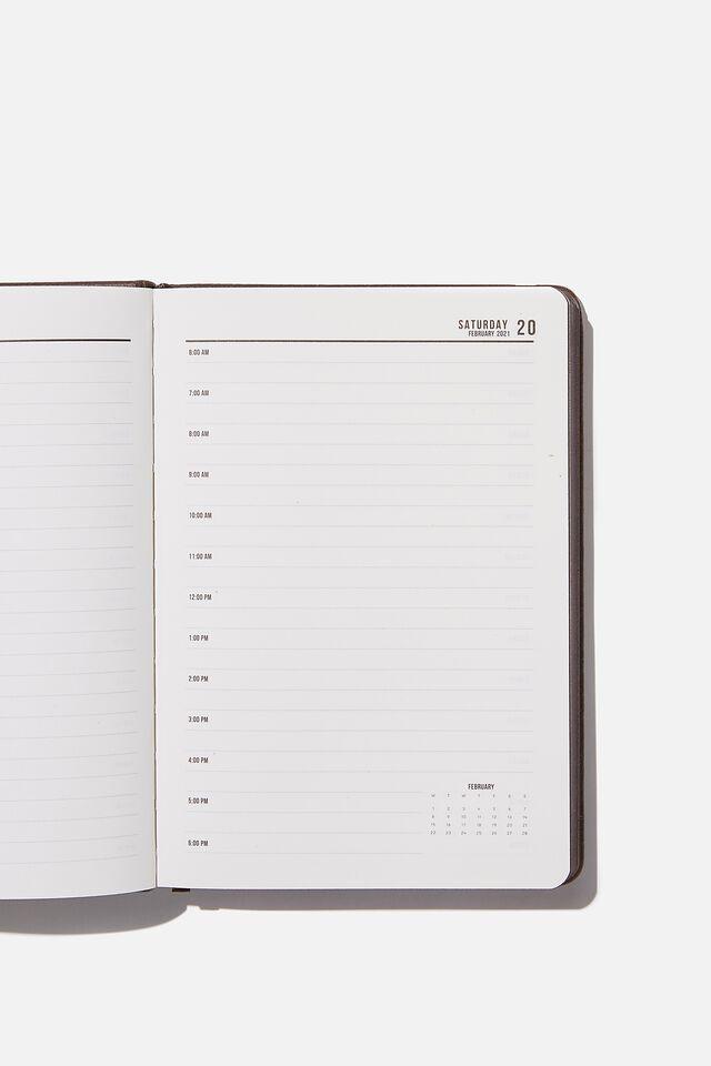2021 A5 Daily Buffalo Diary, BITTER CHOC