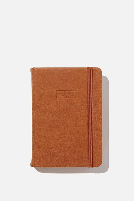 2021 A6 Daily Buffalo Diary, MID TAN