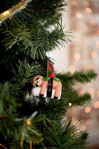 Christmas Ornament, SLOTH SUSHI