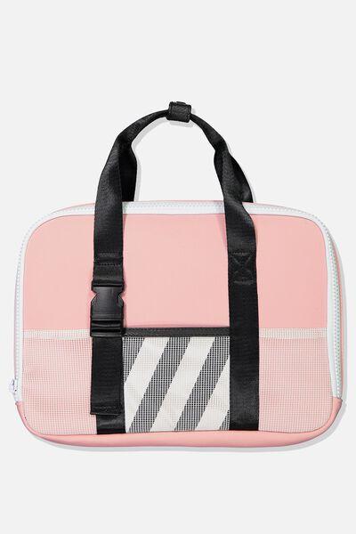 Metro Laptop Bag 13 Inch, DUSTY PINK