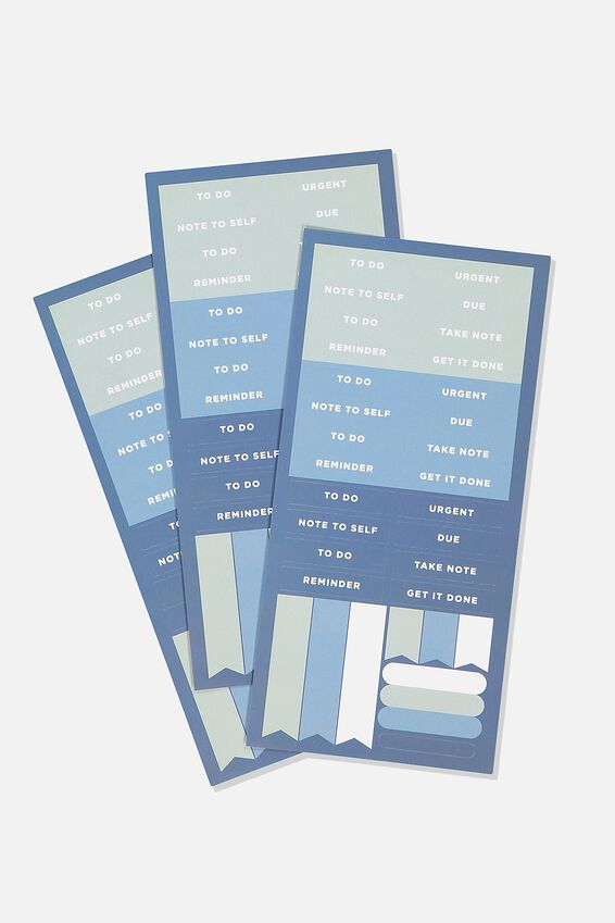 Sticker Pack, BLUE MOSS