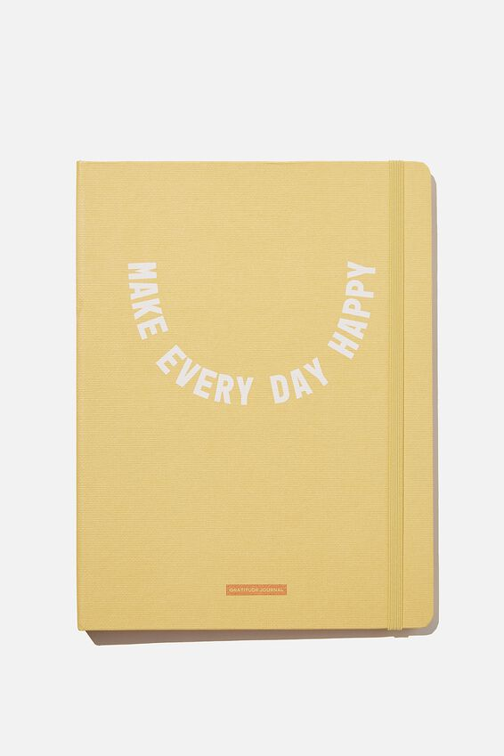 Large Premium Activity Journal, MAKE EVERY DAY HAPPY