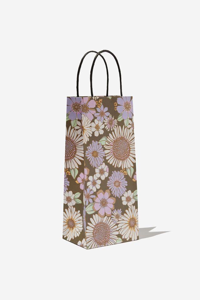 Bottle Gift Bag, SUNNIE FLORAL