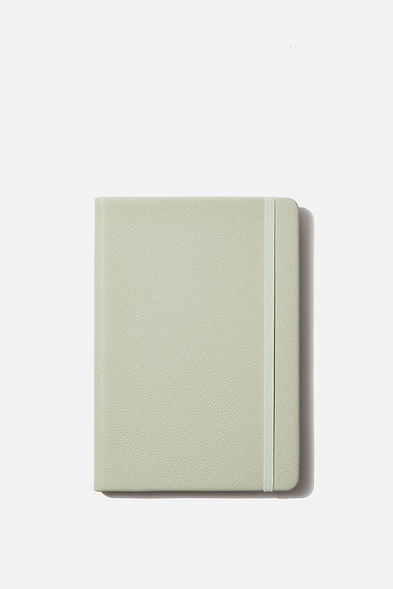 "A5 Dot Buffalo Journal (8.27"" x 5.83""), WASHED SAGE"