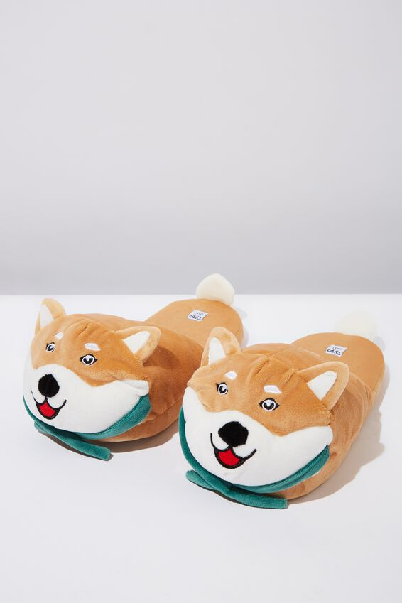 Novelty Slippers, SHIBA INU