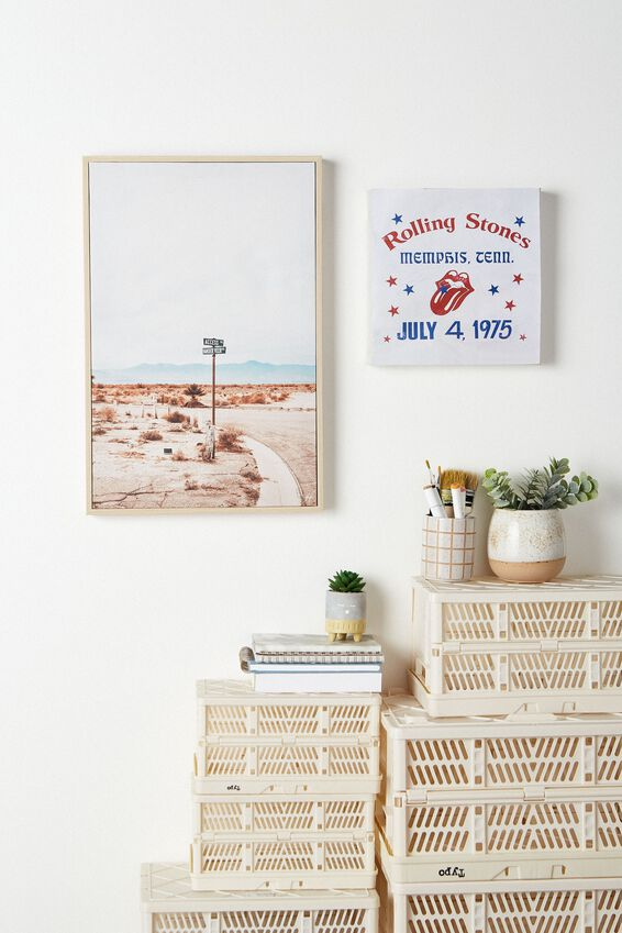 30 X 30 Canvas Art, LCN BRA ROLLING STONES