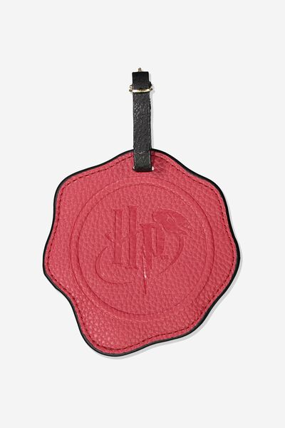 Shape Shifter Luggage Tag, LCN WB HPO WAXED SEAL