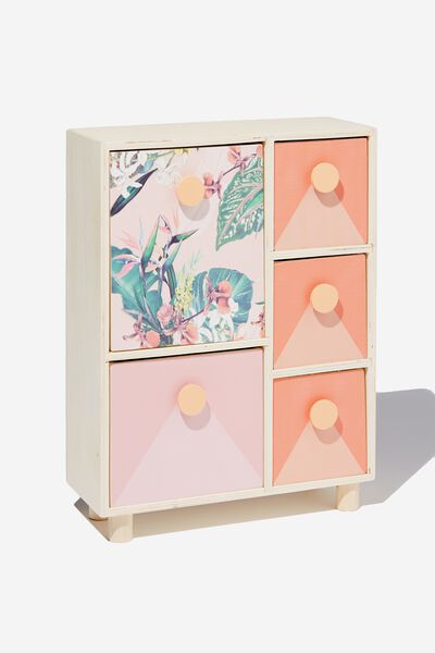 5 Drawer & Store, BIRDS OF PARADISE