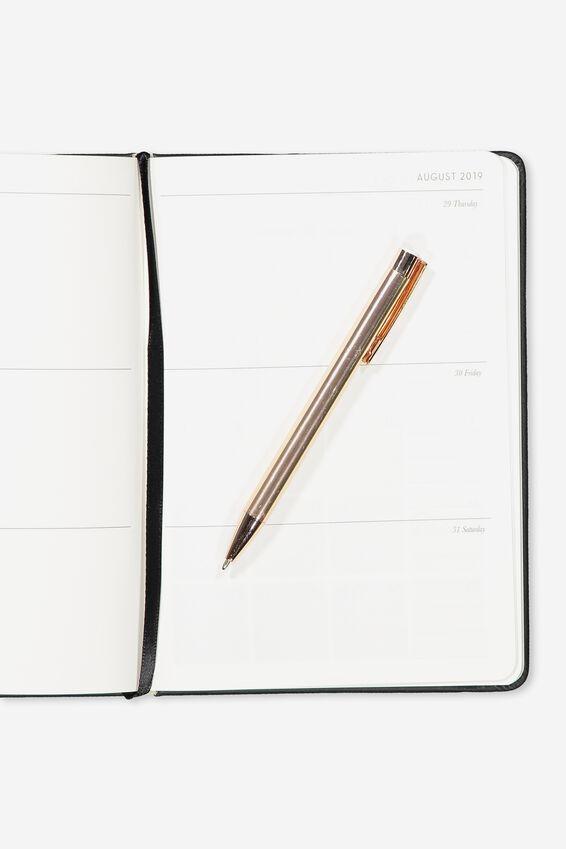 2019 A5 Weekly Buffalo Diary, LCN HP SOLEMLY SWEAR