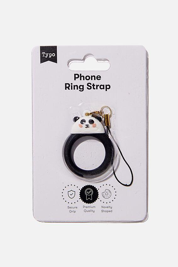Phone Ring Strap, PANDA