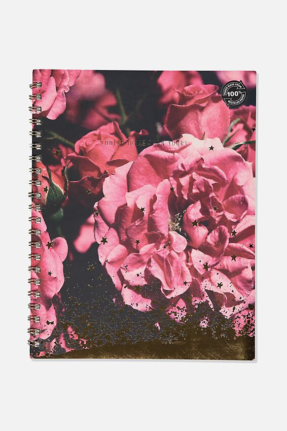 A4 Campus Notebook Recycled, PEONIE ROSE