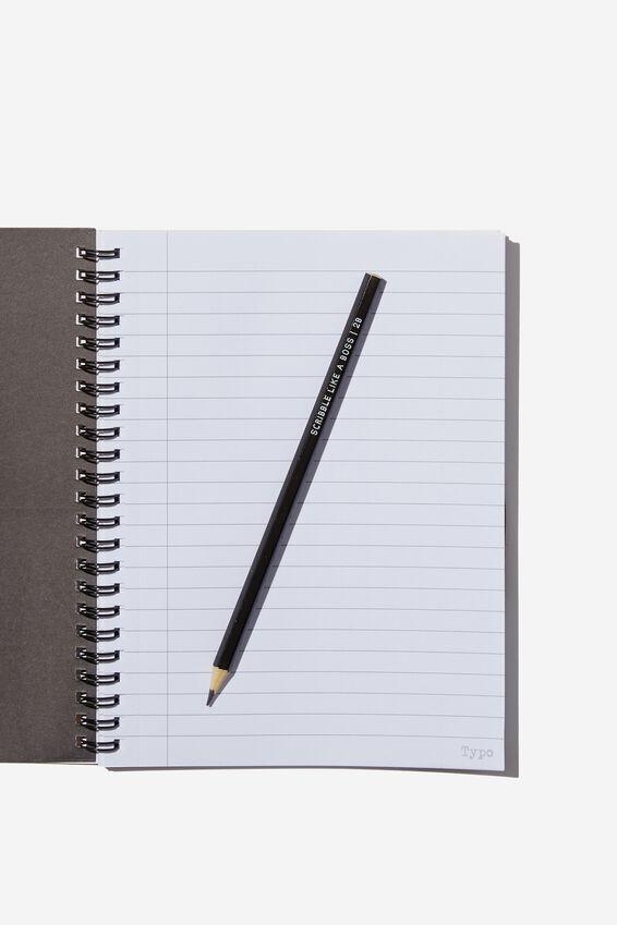 Small Spinout Notebook - V, GO BANANAS