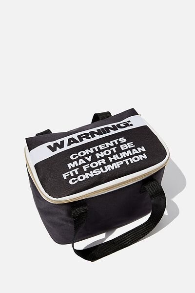 Eat It Up Lunch Bag, WARNING