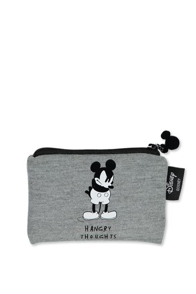 Cashed Up Coin Purse, LCN MICKEY HANGRY THOUGHTS