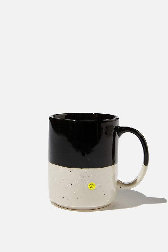 Daily Mug, BLACK CALM AS F###!!