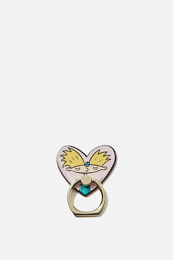 Hey Arnold Metal Phone Ring, LCN NIC HA HEY ARNOLD