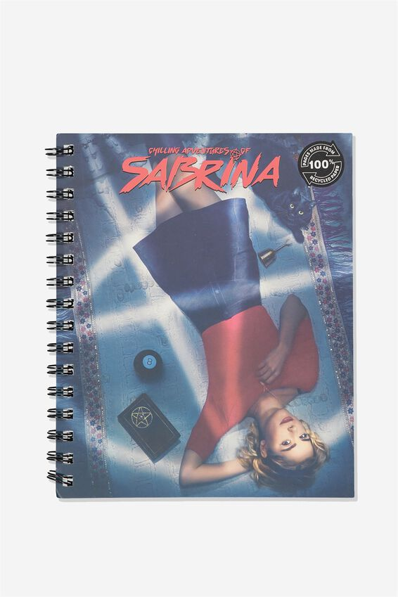 A5 Sabrina Campus Notebook Recycled, LCN WB SABRINA