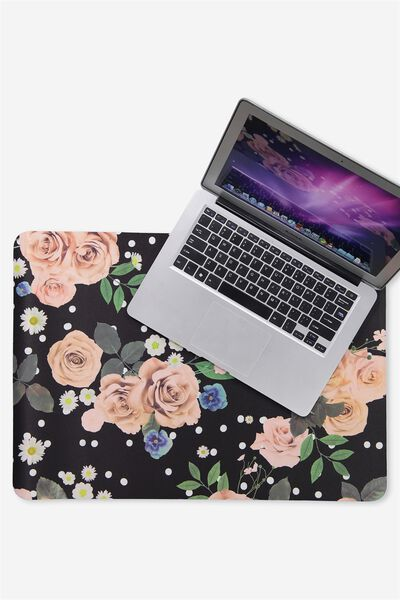 A2 Jumbo Mouse Pad, POLKA FLORAL