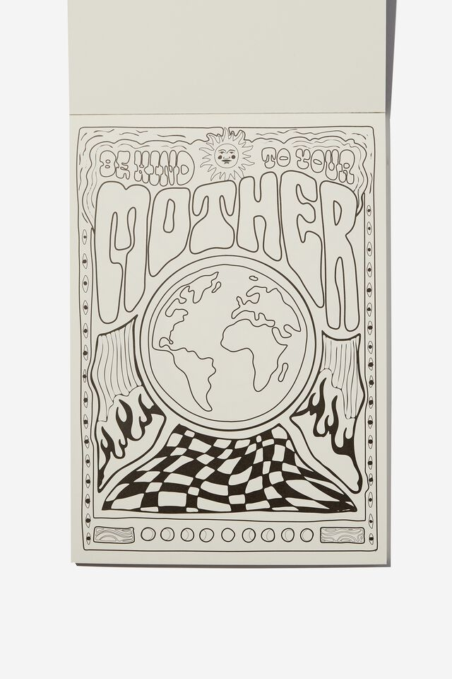 Artists Assistant Colouring In Book, DON'T TRIP