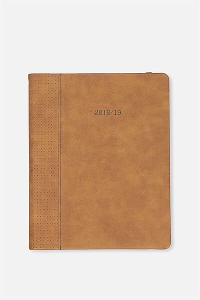 2018 19 18 Month Diary, TAN