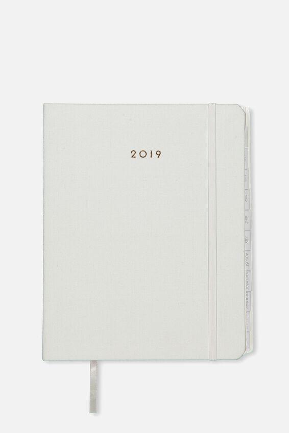 2019 Organisational Planner, GREY