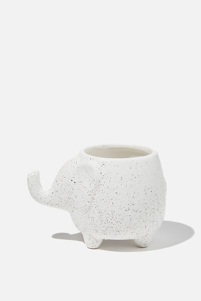 Pen Holder, SPECKLED ELEPHANT