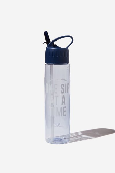 The Refresher Drink Bottle, ONE SIP AT A TIME